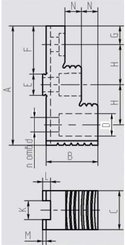 Кулачки накладные прямые к токарным патронам (1)