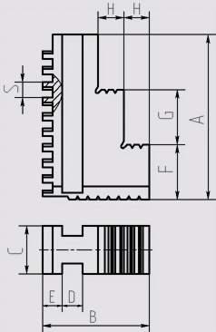 Кулачки прямые к токарным патронам (1)