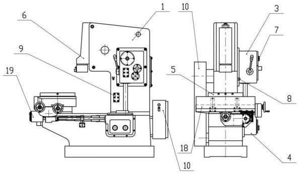 Основные части, узлы оборудования