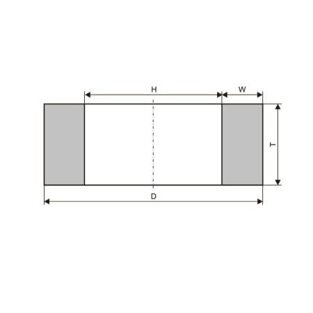 Круги шлифовальные кольцевые (тип 2)