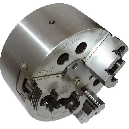 Патроны токарные 3-х кулачковые клиновые механизированные