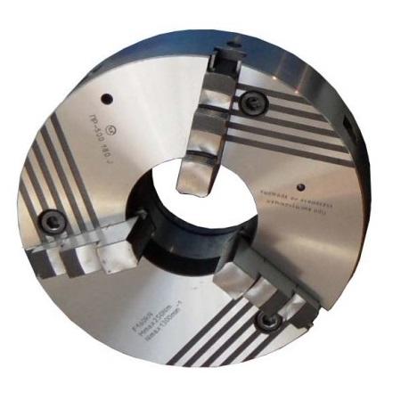 Патрон клинореечный трехкулачковые ручной самоцентрирующийся Ø 250-500 мм