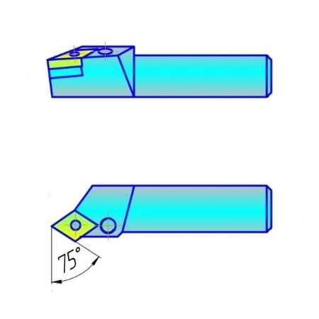 Резцы с СМП контурные с ромбической пластиной