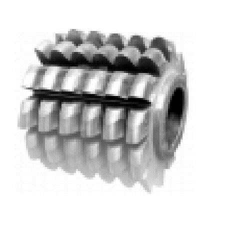 Фрезы червячные цельные для нарезания зубьев звёздочек к проводным роликовым и втулочным цепям ГОСТ 15127-83