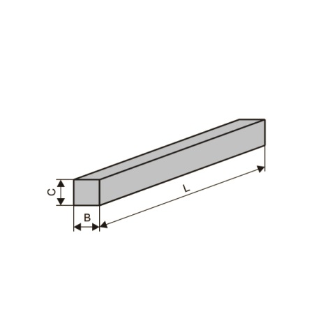 Бруски шлифовальные квадратные (тип БКв)
