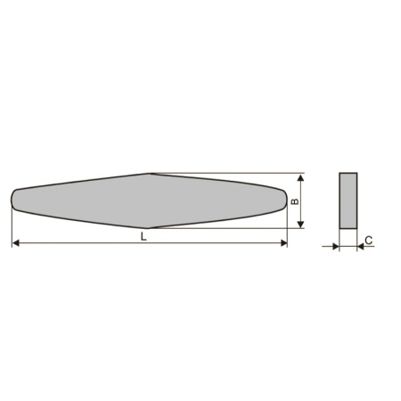 Бруски шлифовальные специальные (тип Б)