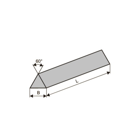 Бруски шлифовальные трёхгранные (тип БТ)