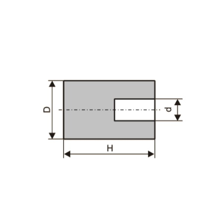 Головки шлифовальные цилиндрические (тип AW)