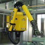 Подъемно-поворотное вытяжное устройство KUA-M