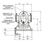 Чертеж компрессора серии 1А