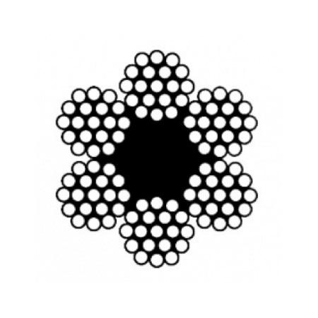 Канат стальной двойной свивки типа ЛК-Р (ГОСТ 2688-80)