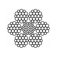 Канат стальной круглопрядный (DIN 3059)