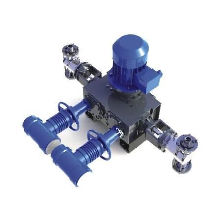 Агрегаты с мощностью электродвигателя до 37 кВт с вертикальным расположением приводного вала. Серия АР57