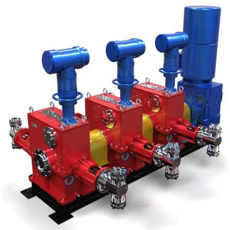 Агрегаты с мощностью электродвигателя до 37 кВт с горизонтальным расположением приводного вала. Серии АР56