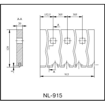 Нож NL-915