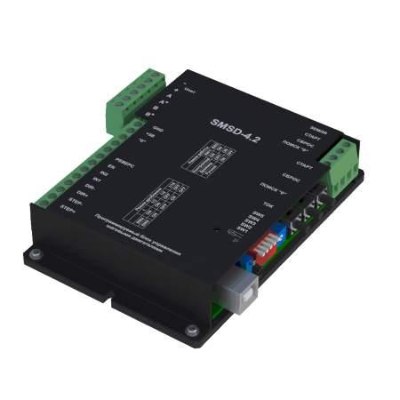 Программируемый блок управления шаговыми двигателями SMSD-4.2