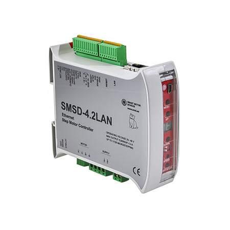 Программируемый блок управления шаговыми двигателями SMSD-4.2LAN