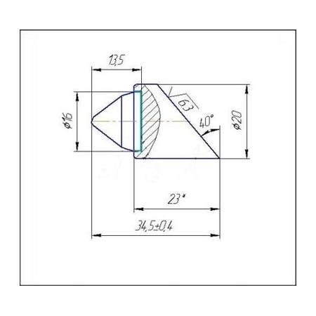 С20A-16T инструмент для горизонтально-направленного бурения