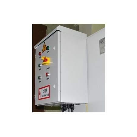 Шкаф управления насосом НД с частотным преобразователем и расходомером