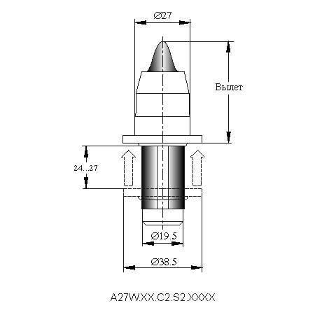 серия A30W инструмент для дорожных машин