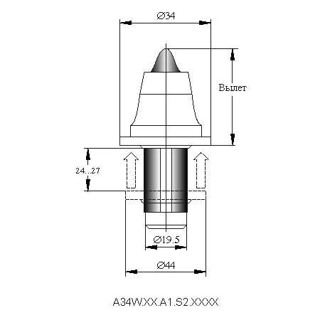 серия A34W инструмент для дорожных машин