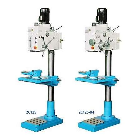 Вертикально-сверлильные станки 2С125 и 2С125-04