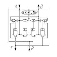 Цифровой клапанный гидропривод типа ГЭК-250